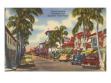 Worth Avenue, Palm Beach,  Florida Poster