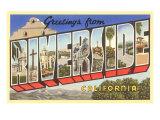 Greetings from Riverside, California Art