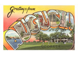 Greetings from Augusta, Georgia Art