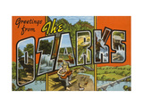 Greetings from the Ozarks Print