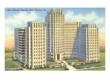 Charity Hospital, New Orleans, Louisiana Giclee Print