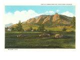 Flat Irons, Boulder, Colorado Print