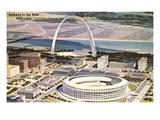 Gateway Arch, St. Louis, Missouri Kunstdrucke
