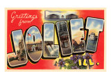 Greetings from Joliet, Illinois Prints