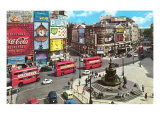 Picadilly Circus, London, England Premium Giclee Print