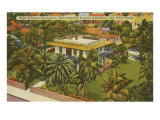 Ernest Hemingway Home, Key West, FL Art Print