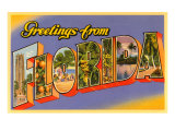 Greetings from Florida Prints