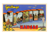Greetings from Wichita, Kansas Prints