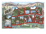 Greetings from Smoky Mountains Prints