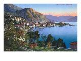 Menaggio, Lake Como, Italy Kunstdruck