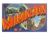 Greetings from Wilmington, North Carolina Prints