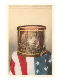 Revolutionary War Drum, Lexington, Massachusetts Poster