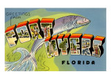 Greetings from Ft. Myers, Florida Posters