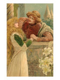 Balcony Scene, Romeo and Juliet Posters