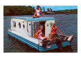 Houseboat with Bathing Beauties Prints