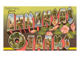 Greetings from Arkansas Ozarks Prints