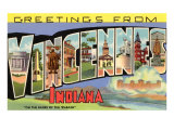 Greetings from Vicennes, Indiana Art