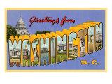 Greetings from Washington, D.C. Art