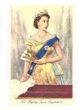 Queen Elizabeth Plakat