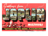Greetings from Joplin Print