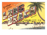 Greetings from Long Beach, Florida Prints