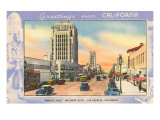 Greetings from California, Miracle Mile, Los Angeles, California Prints