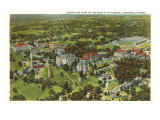 Aerial View, University of Kansas, Lawrence, Kansas Poster