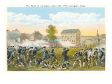Battle of Lexington, Massachusetts, 1775, Painting Prints