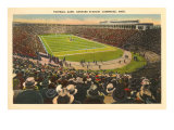 Harvard Stadium, Cambridge, Massachusetts Posters