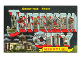 Greetings from Jefferson City, Missouri Posters