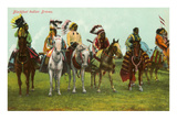 Blackfoot Indian Braves Posters