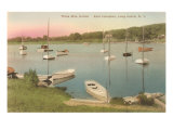 Three-Mile Harbor, East Hampton, Long Island, New York Print