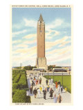 Jones Beach Water Tower, Long Island, New York Poster