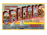 Greetings from Orleans, Mass. Posters