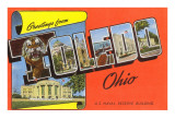Greetings from Toledo, Ohio Poster