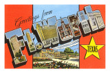 Greetings from Ft. Worth, Texas Prints