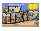 Greetings from New Mexico Prints