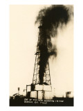 Oil Well Gusher, Odessa, Texas Art