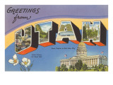 Greetings from Utah Prints