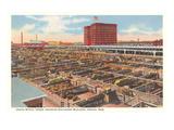 Union Stockyards, Omaha, Nebraska Poster