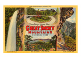 Greetings from Great Smoky Mountains Prints