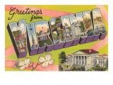 Greetings from Virginia Prints