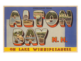 Alton Bay New Hampshire Prints