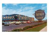 Stardust Hotel, Las Vegas,  Nevada, Retro Affiches