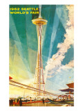 Space Needle, Seattle, Washington Print