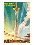 Space Needle, Seattle, Washington Print
