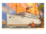 Great White Fleet, United Fruit Company Art