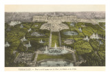 Palace at Versailles, France Print