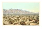 Sandia Mountains, New Mexico Premium Giclee Print