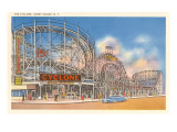 The Cyclone, Coney Island, New York Art